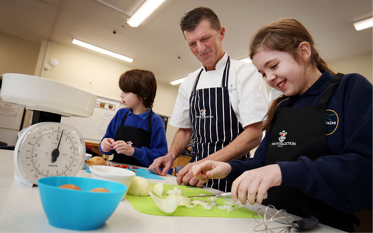 Northumberland primary school gets cooking on the curriculum