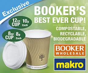 Best ever 'Green' cup from Booker