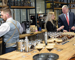 Brussels-based barista crowned winner by BaxterStorey