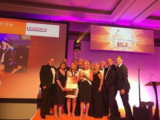 School catering industry honoured at LACA Awards