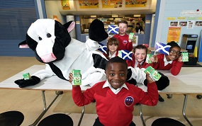 Glasgow caterer removes flavoured milk from primaries