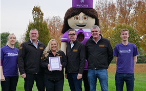 Creed staff step up for WellChild