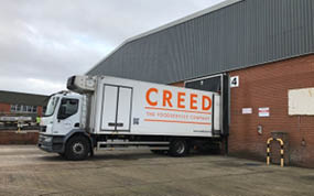Creed Foodservice opens third depot