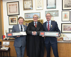 Mulcahy awarded Freedom of the City of London