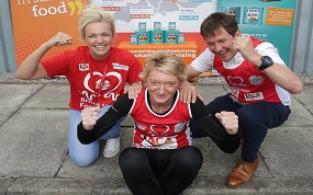 Powered by School Meal Marathons to raise money for British Heart Foundation