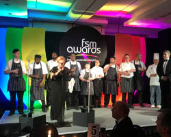 An industry-standing ovation for CH&CO's apprentices