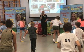 ISS partners with Learn Play Grow for healthy living roadshows