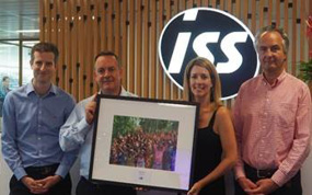 ISS helps raise more than £100,000 for The One Foundation