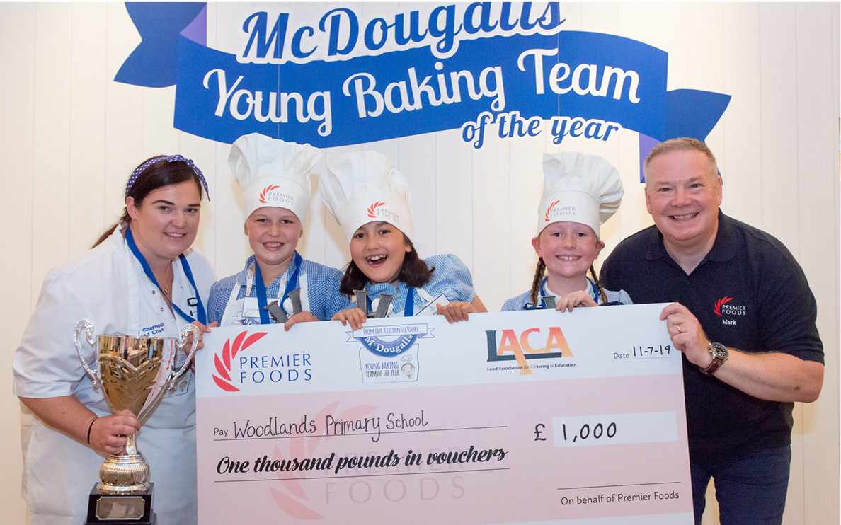 McDougalls Young Baking Team of the Year returns
