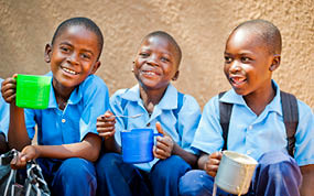 Mary's Meals to Double The Love