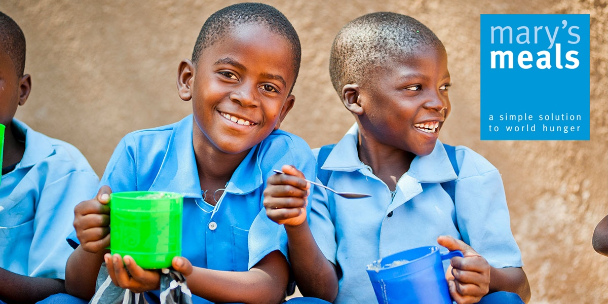 Mary's Meals doubles the love!