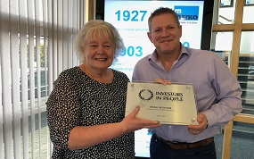 Meiko awarded silver Investors in People
