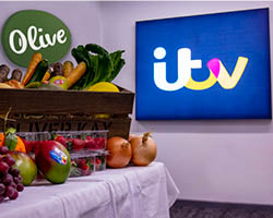 Olive teams up with ITV
