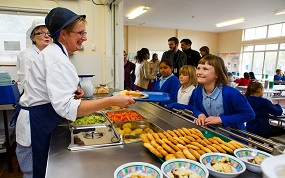 School catering contributes to 10% rise in organic food and drink