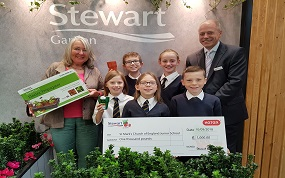Cheltenham school wins garden competition for food growing
