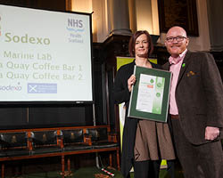 Sodexo achieves Scottish healthyliving plus awards