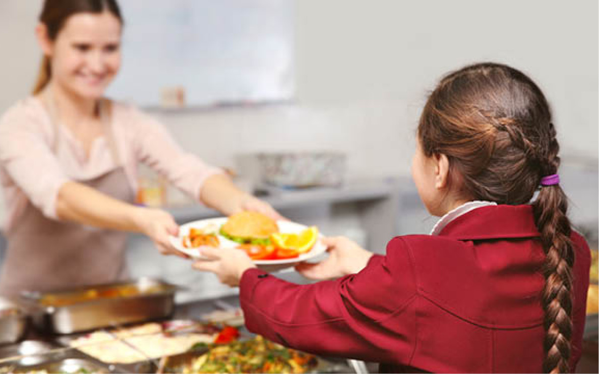 Concerns revealed in new report on school food