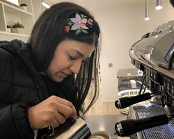 Compass boosts barista training