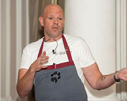 Kerridge calls for chefs to talk more about mental health