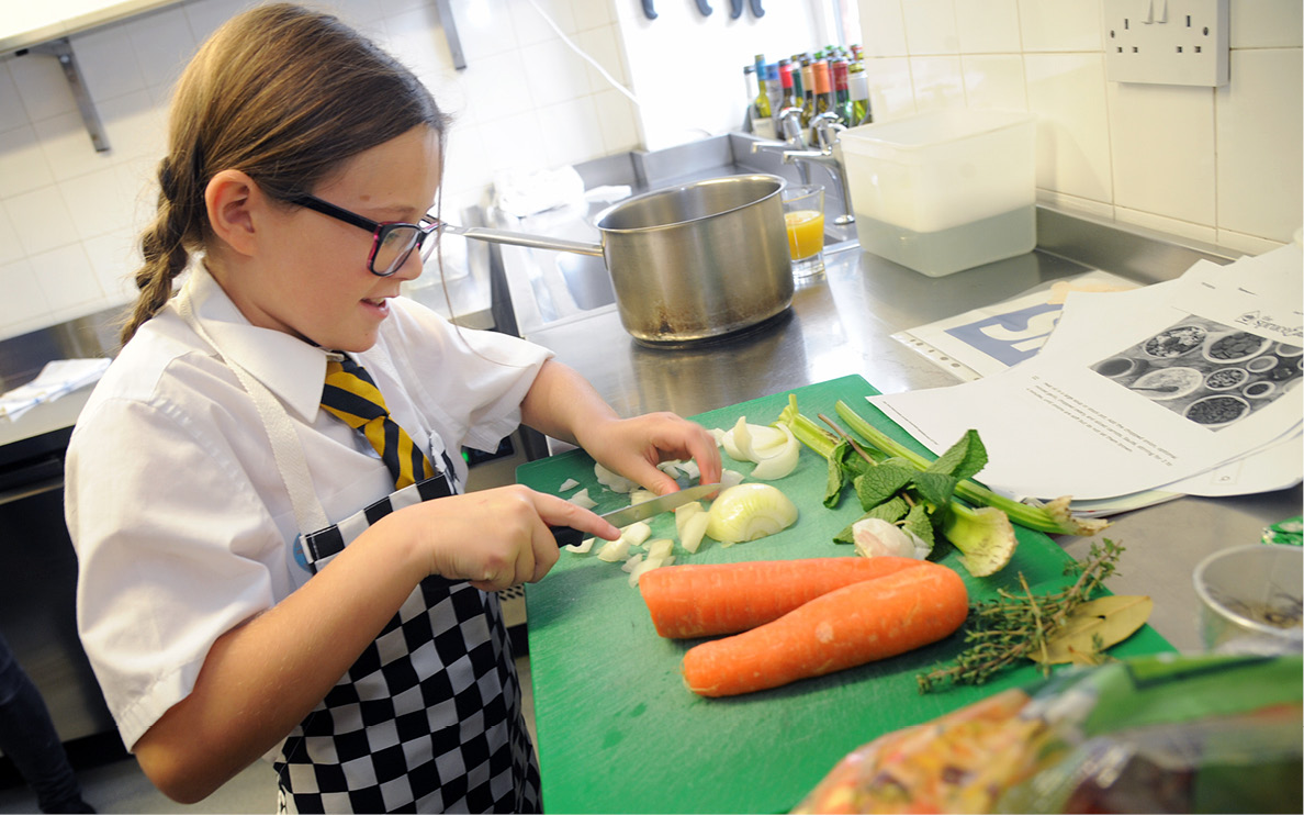 Pupils prepare for Young Chef of the Year final